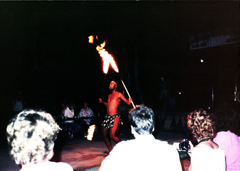 Fire Dancers in Ocho Rios