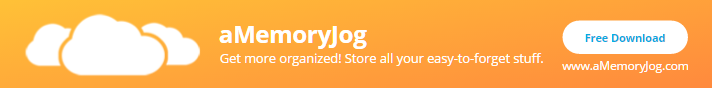 aMemoryJog Web - Best Password Manager for Bucket list